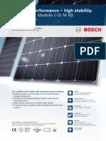 Bosch Solar Module c Si M 60 EU30117-EU30123 en Europe