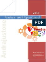 Panduan Install Alpha Control