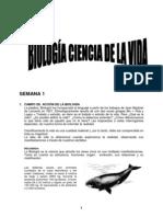 SEMANA 1 - Biología ciencia de la vida