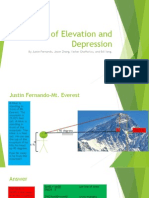 angles of elevation and depression project-final