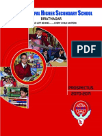 Eurokids Nepal higher Secondary School - Propspectus 2070/71