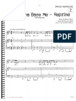 Mama Who Bore Me (Reprise) Vocal and Piano Sheet Music