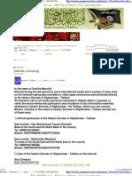Tailban Media Alert, 7 Oct 09