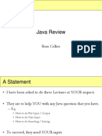 Java Lecture