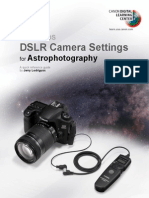 Canon CDLC Astrophotography Quick Guide