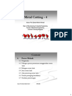 SME 2713 Metal Cutting - 4