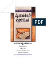 Watchman Nee - Autoridade Espiritual