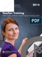 Anglo Continental Teacher Training 2014