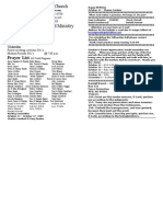 Locust Grove Bulletin for October 11, 2009