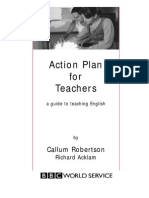 Action Plan for Teaching