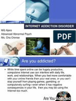 Computer Addiction Power Point Presentation