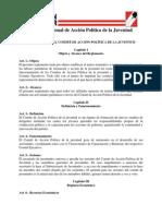 Reglamento del Comité de Acción Política de la Juventud