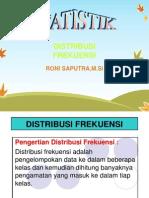 2. Distribusi Frekuensi