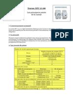 Normes NFC15 100 Principaux Points
