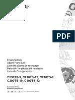 c190ts-c230ts Parts Manual Compair