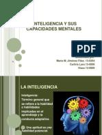 La Inteligencia y Sus Capacidades Mentales