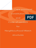 Neighbourhood Watch Constitution