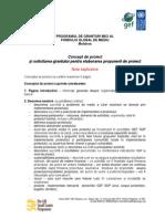 GEF SGP Formular Concept Proiect -Rom
