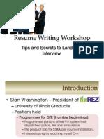 Why Resume