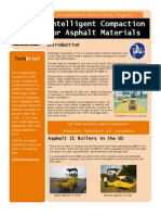 Intelligent Compaction for Asphalt Materials