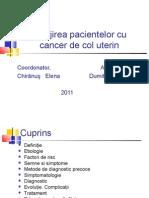 Îngrijirea pacientului cu cancer de col uterin.ppt
