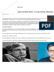 ``This Bengali Physicist Disproved Black Holes 13 Years Before Hawking''