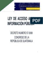Ley Acces a Info Publica