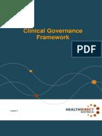 Clinical Governance Framework 2013 - Health Direct Australia