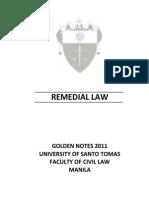 Ustgn Remedial Law