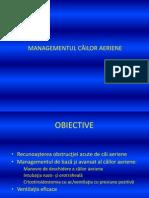 3 0 Management Cai Aeriene-Ventilatia