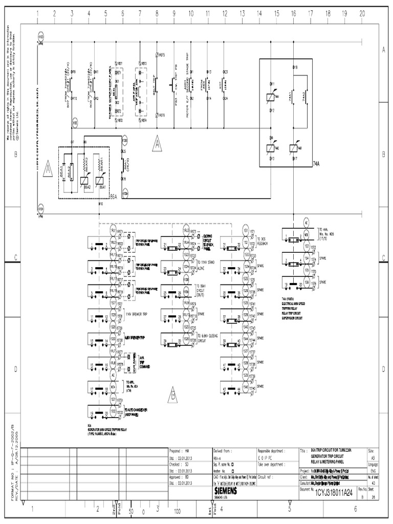 Vajhm53 And Vax31 Wiring Diagram In Relay Panel