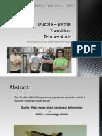 DBT Experiment