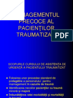 Management Pacient Traumatizat- Final