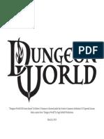 Dungeon World GM Screen v1