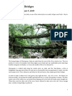 ARTICLE - Living Root Bridges