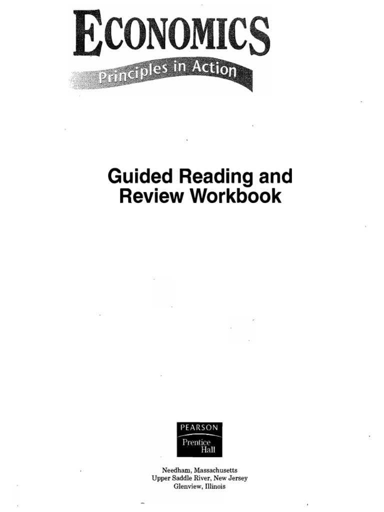ECO - Guided Reading and Review Workbook | Monopoly | Supply ...