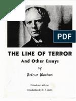 Machen - Line of Terror &Amp; Other Essays