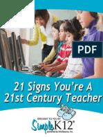 21 Stcentury Teacher