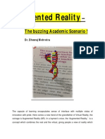 Augmented Reality In Academics.