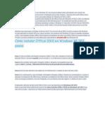 Instalar Office 2010 en Windows Xp Sp2