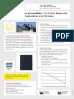 Panouri Solare SHARP