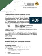 Surat Tawaran Kursus Keterangan Saksi Kpd Calon