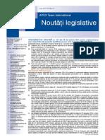 APEX Team Noutati Legislative 12 2013