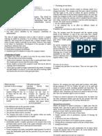 Capital Maintenance Notes
