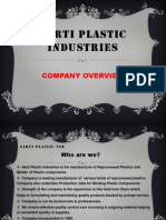Aarti Plastic Industries
