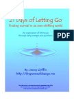 21 Days of Letting Go