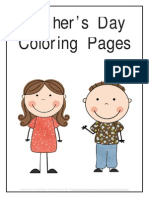 Free Mothers Day Coloring Pages Pages