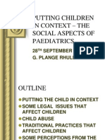 2. 2009 Students Social Paediatrics