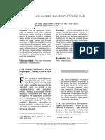 Dax F.M.P. Nascimento - O Logos Filoniano e o Mundo Platônico das Idéias