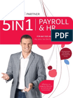 Pastel Payroll's 5-in-1 Payroll & HR Solution
